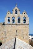 Церковь Saintes-Maries de la Mer на Camargue стоковая фотография