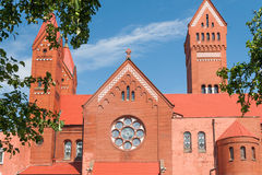 Церковь Saints Simon и Helena Стоковое фото RF