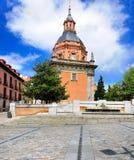 Церковь San Andres, Мадрид Стоковое фото RF