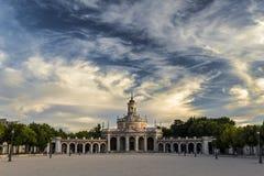 церковь san antonio Аранхуэс стоковая фотография