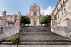 Церковь San Giovanni, чуточки, Сицилия, Италия Стоковые Фото