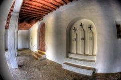 Церковь San Mateo - Ibiza стоковое изображение rf