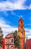 Церковь San Miguel Мигель de Альенде Мексика San Felipe Neri Стоковое Изображение RF