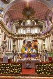 Церковь San Miguel Мигель de Альенде Мексика San Felipe Neri Стоковое Фото