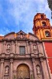 Церковь San Miguel Мигель de Альенде Мексика San Felipe Neri Стоковые Фото
