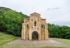 Церковь San Miguel de Lillo, Овьедо, Астурии, Испании стоковые изображения