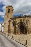 Церковь San Nicolas de Бари Стоковые Изображения RF