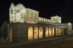 церковь san vicente avila стоковое фото