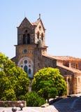 Церковь San Vicente Martir y San Sebastian в Frias Стоковые Фото