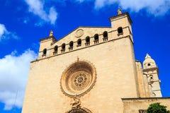 Церковь Sant Francesc, Palma de Mallorca Стоковые Изображения RF