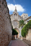 Церковь Sant Jaume в Alcudia Стоковое Изображение RF