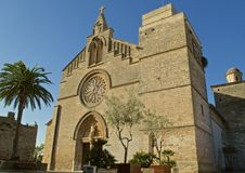 Церковь Sant Jaume Стоковые Фото