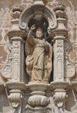 Церковь Sant Martà в Sant Celoni-Каталонии Стоковые Изображения RF
