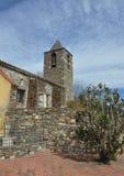 Церковь Sant Martà в Mosqueroles-Каталонии Стоковое Изображение