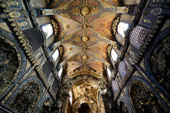 Церковь Santa Clara, Порту, Португалия Стоковое Изображение
