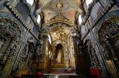 Церковь Santa Clara, Порту, Португалия Стоковая Фотография