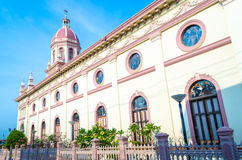 Церковь Santa Cruz, Таиланд Стоковое фото RF