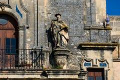 Церковь Santa Maria Ла Асунсьон Iglesia de Santa Maria de восхождения Стоковые Фотографии RF