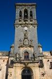 Церковь Santa Maria Ла Асунсьон Iglesia de Santa Maria de восхождения Стоковое фото RF