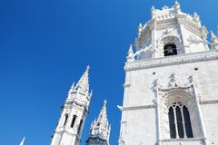 Церковь Santa Maria de Belem lisbon стоковые фотографии rf