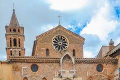 Церковь Santa Maria Maggiore, Tivoli, Италии Стоковое Изображение RF