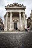 Церковь Santa Maria popolo del аркады Италия rome Стоковые Фото