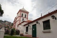 Церковь Santa Rosa положения Каракаса Ve Палермо El Hatillo Miranda стоковые изображения