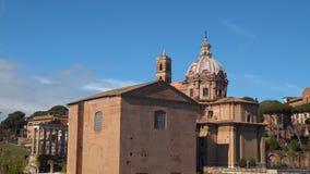 Церковь Santi Luca e Martina rome видеоматериал