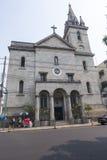 Церковь Sebastian Святого в Манаус, Amazonas Стоковое Изображение