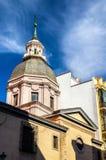 Церковь Sebastian Святого в Мадриде Стоковое Изображение RF
