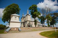 Церковь Sesuoliai стоковая фотография rf