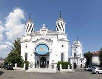 Церковь Sfantul Silvestru Стоковое Изображение RF