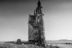 Церковь Shettyhalli на ландшафте Хасана красивом Стоковые Фотографии RF