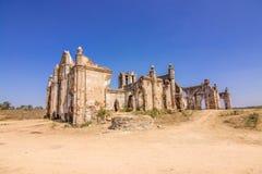 Церковь Shettyhalli на ландшафте Хасана красивом Стоковое Фото