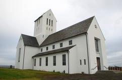 Церковь Skalholt в Исландии Стоковое фото RF