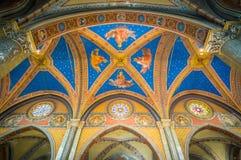 Церковь sopra Minerva Santa Maria в Риме, Италии Стоковые Изображения