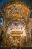 Церковь sopra Minerva Santa Maria в Риме, Италии Стоковое Фото