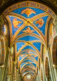 Церковь sopra Minerva Santa Maria в Риме, Италии Стоковые Фотографии RF