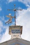 Церковь SS. Della Luce Марии. Mattinata. Апулия. Италия. Стоковые Изображения