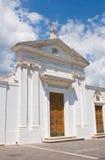 Церковь SS. Della Luce Марии. Mattinata. Апулия. Италия. Стоковая Фотография RF