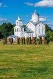 Церковь St Александра Nevsky в Gomel, Беларуси церковь правоверная Стоковые Фотографии RF