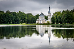 Церковь St Александра Nevsky в Stameriena, Латвии Стоковое Изображение