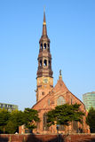 Церковь St Катрина в Гамбурге, Германии стоковые изображения rf