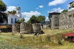 Церковь St Кирилла и St Methodius в городке Sozopol Стоковые Фото