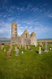 Церковь St Магнуса, Egilsay, оркнейские острова, Шотландия Стоковые Фотографии RF