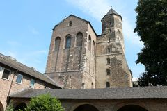 Церковь St. Марии im Kapitol, Кёльн, Германия Стоковое фото RF