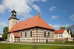 Церковь St января Chrzciciel в Pisz Стоковые Фотографии RF