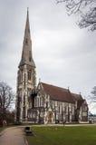 Церковь St. Alban, Копенгаген Стоковые Фотографии RF