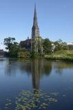 Церковь St Alban Стоковое фото RF