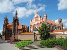 Церковь St Anne и Bernardine Стоковые Изображения